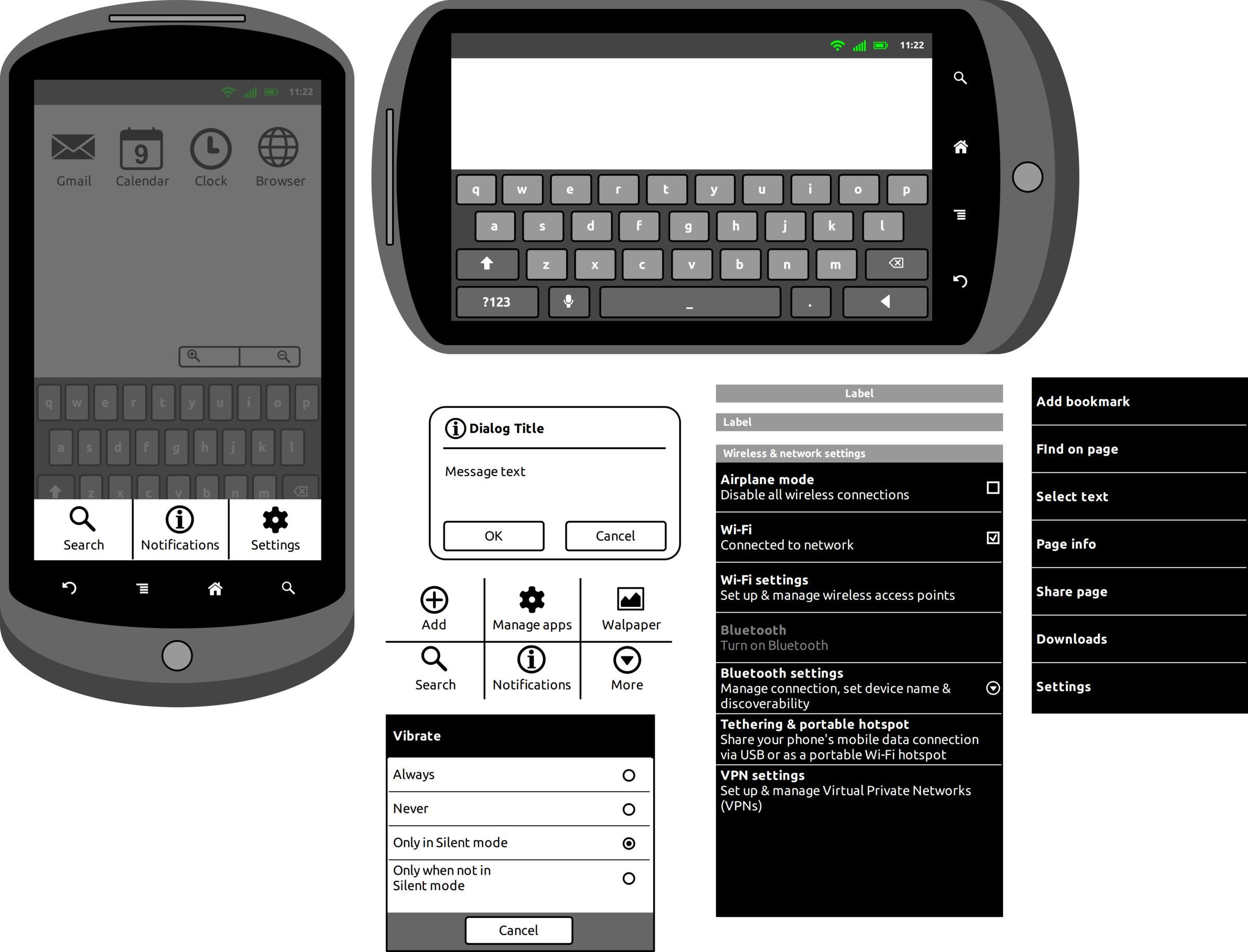Download Android Stencil - WireframeSketcher Free Mockups