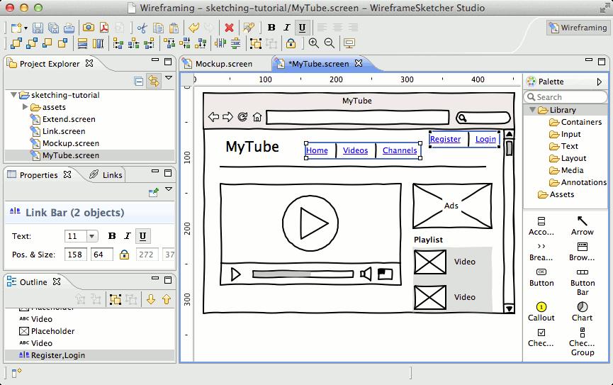 Features Wireframesketcher